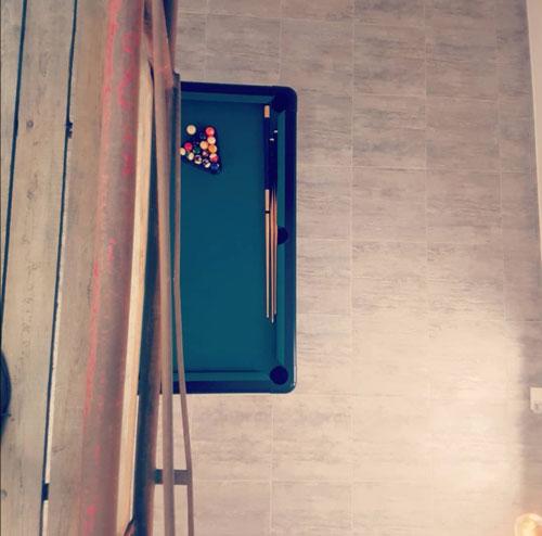 Salle de Billard-Lieu de Vie séminaire la Pépinière