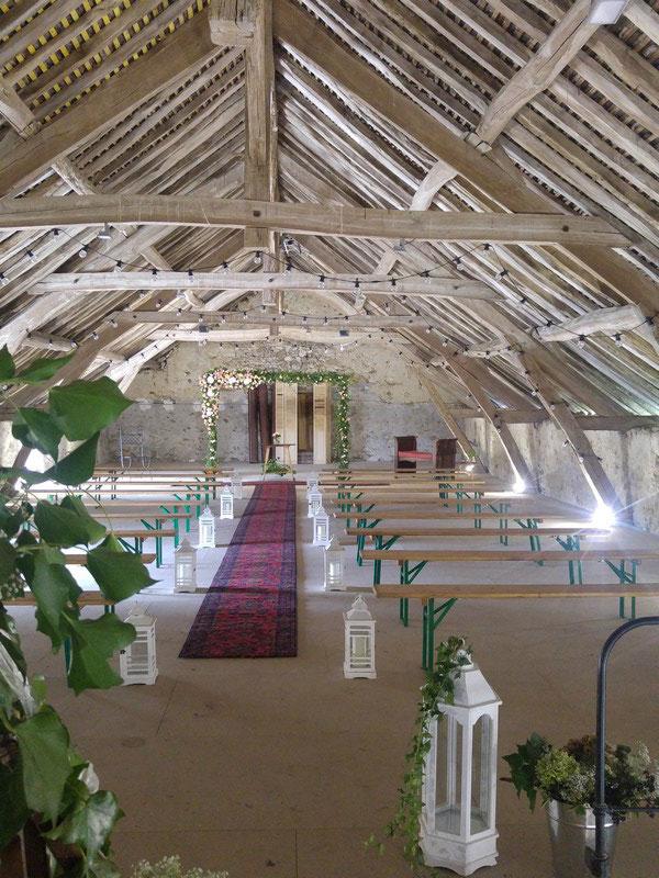 Salle de Mariage à la Pepinière